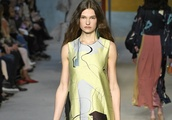 Roksanda Ilincic plays with luxe fabrics and abstract prints for fall 18