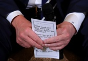 Florida shooting: Trump's 'I hear you' notes revealed in photo of meeting with school survivors