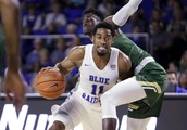 King scores 22 points as No. 24 Middle Tennessee beats UAB