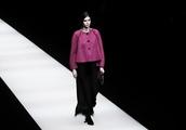Giorgio Armani's Autumn/ Winter 2018 show at Milan Fashion Week was a Tudor-inspired affair