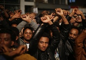 Thousands of African migrants protest against Israel's plans to deport them