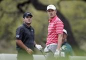 The Latest: Reed finishes off Spieth with 40-foot birdie