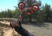 自転車の意味がわからん(笑) 【パルクール】