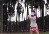 楽しくゴルフをしているね。そのまま、頑張ってください。