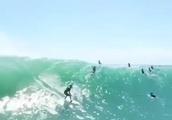 競争率が厳しいテイクオフで取った波が最高(๑>◡<๑)