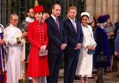 動画:英連邦記念日の式典、ロイヤルファミリーが勢ぞろい