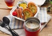 【かんたん弁当】ほっこりあったかホワイトシチュー弁当 の レシピ 作り方