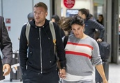 Exclusive: * No Web Till 10pm GMT 13th Oct 2019 * A Tearful Rebekah Vardy And Husband Jamie Return T