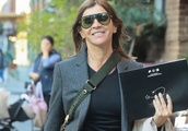 French Fashion Editor Carine Roitfeld Steps Out NYC