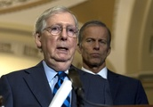 Majority Leader Mitch McConnell gives Senate GOP a lesson on impeachment trial rules