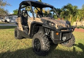 2014 Can Am Commander 800 XT Camouflage