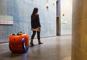 Gita is a new cargo robot that can follow you, carry your stuff for about 2 hours