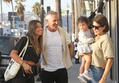 Exclusive: Gary Lineker Meets Up With Former Wife Danielle Bux In Los Angeles After Revealing They A