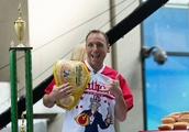 Joey Chestnut Downs 28 Pounds of Poutine to Set New World Record