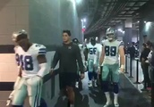 LOOK INSIDE: Cowboys March to the Locker Room After Dominating Eagles