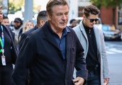 Actor Alec Baldwin is seen in New York