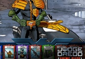 You Can Be Judge Dredd in Judge Dredd: Crime Files!