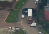 39 people have been found dead in a truck container in southeast England, UK police say