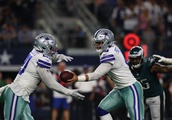 Cowboys are the only NFL team with a player currently top five in passing, rushing, AND receiving