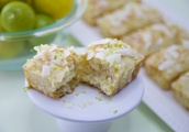 Coconut Lime Bars [Vegan]