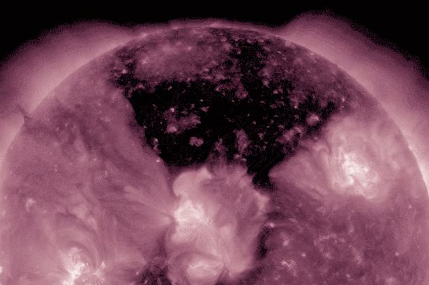 There's a gigantic hole in the Sun and no-one really knows why