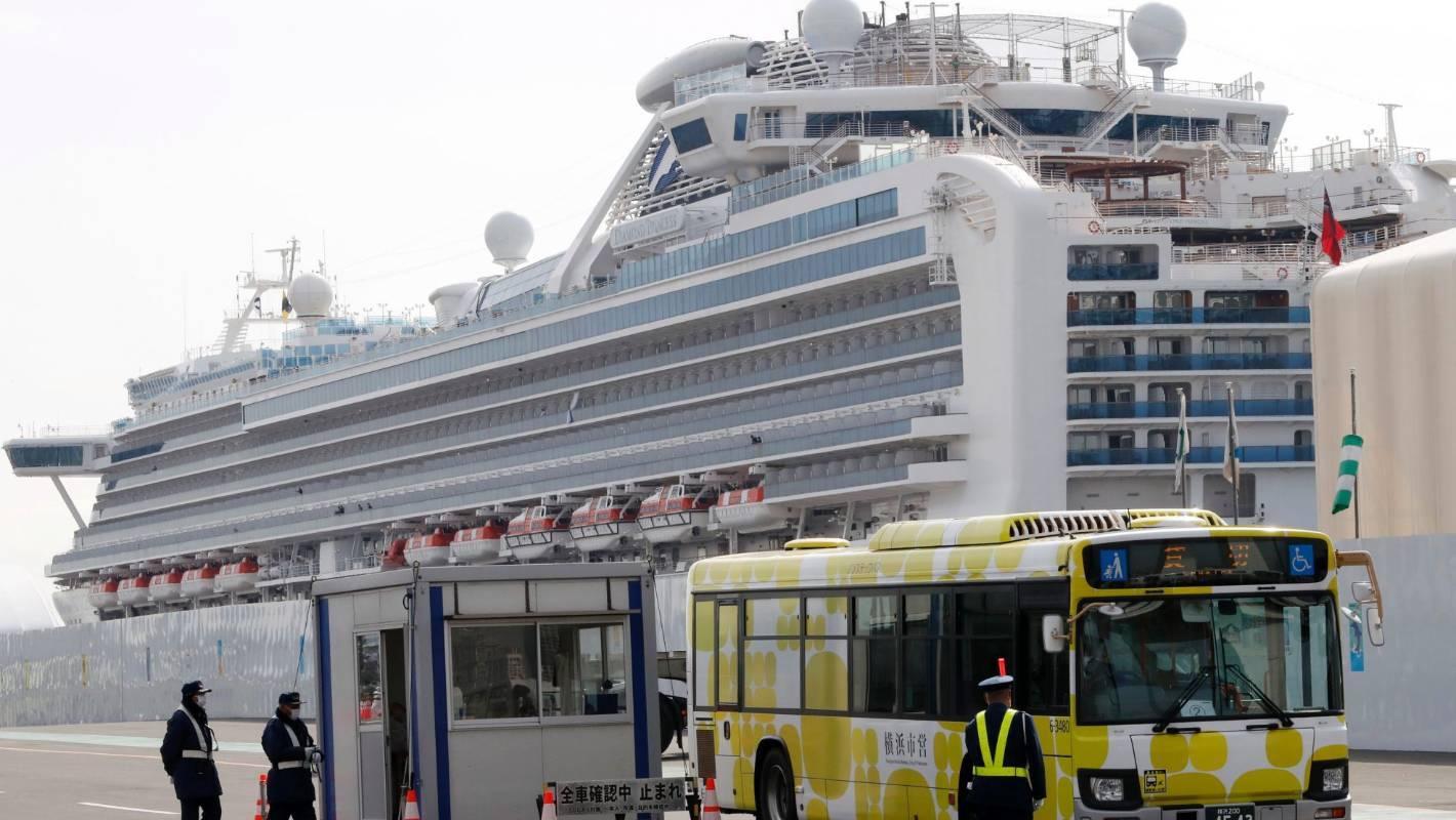 Coronavirus cruise: Two passengers on Diamond Princess reportedly die from virus